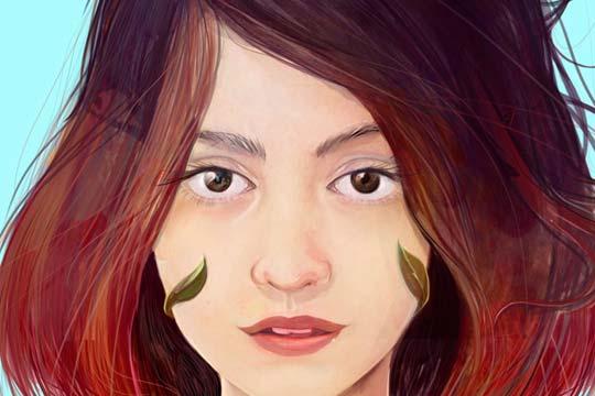 Ilustración, Camila de Cristian Patiño