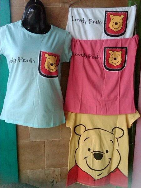 Kaos Winnie The Pooh Pernak Pernik Lucu