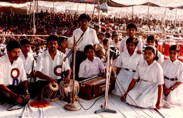 shaurabh bharti Musical performance, Saharsa, 1997