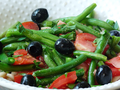 healthy green beans salad