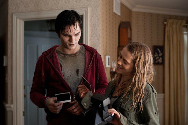 Romantic Movie Scene Spotlight: R and Julie from 'Warm Bodies'. Sharing a snippet of a romantic moment from the zombie romcom. All text is © Rissi JC