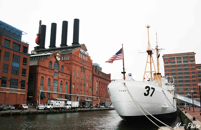 My Travel Background : A la découverte de Batimore, Inner Harbour, US Coast Guard Cutter Taney