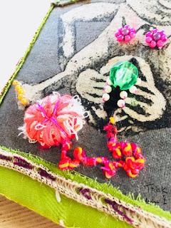 Art textile talisman icône Think Knot