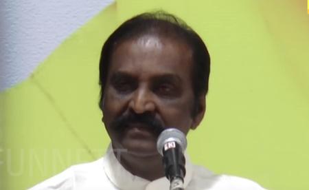 Vairamuthu's emotional speech about Kalaignar!
