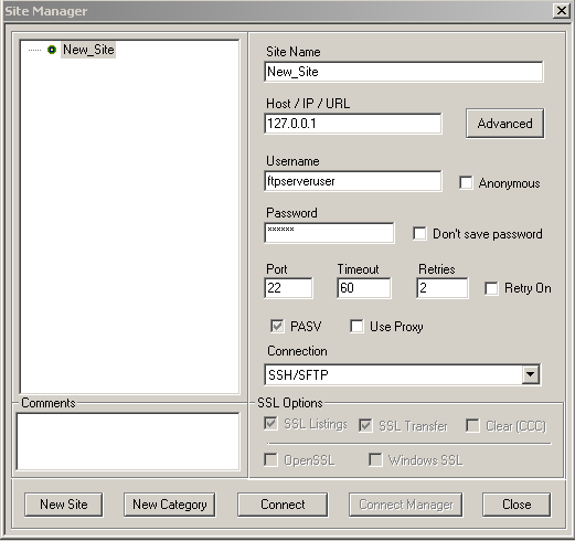 SFTP and File Upload in SFTP using C# and Tamir  SShSharp