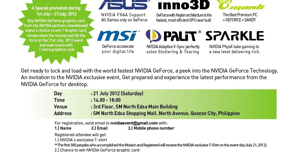 Invitation maker in sm north edsa images invitation sample and nvidia product launch july 21 2012 geektutorial stopboris images stopboris Images