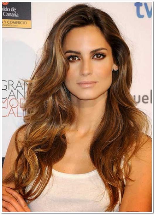 15 traumhafte Frisuren für braune Haare
