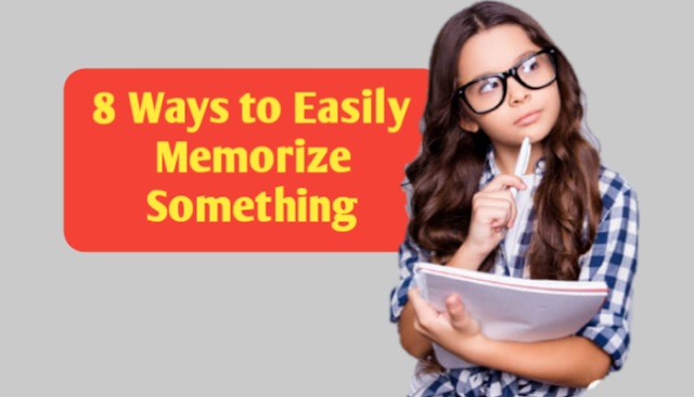 how to memories something in short time?