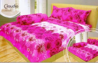 Sprei internal motif Claudia