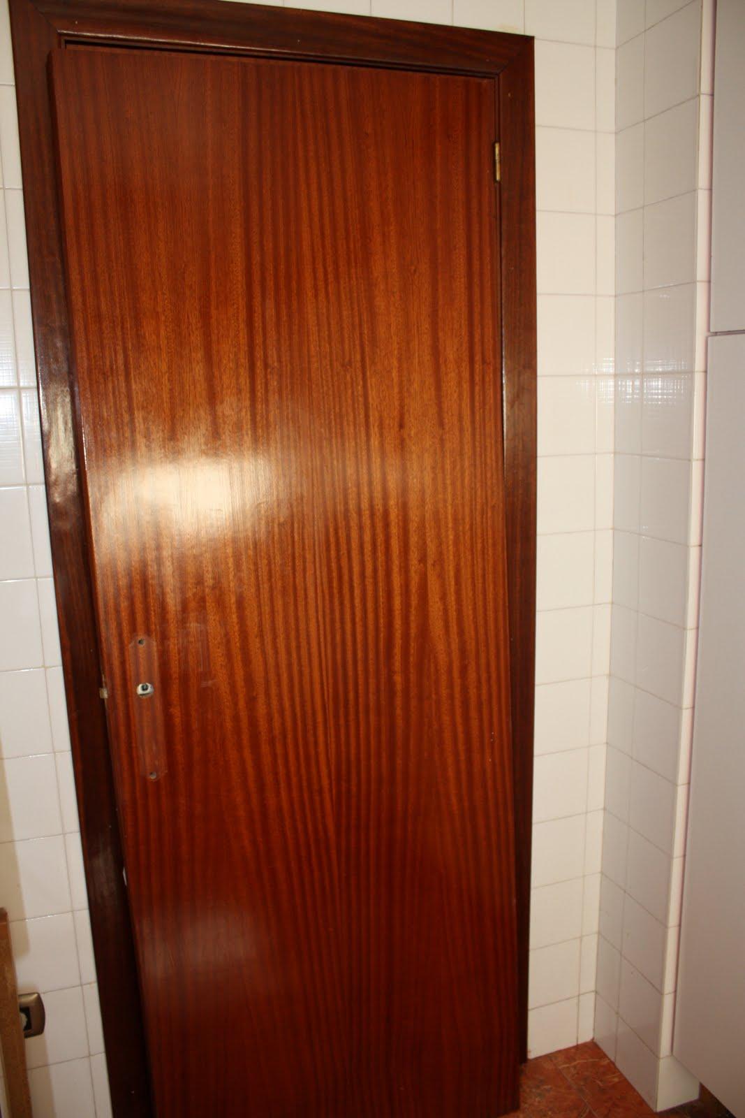 Brico carpinteria soluci n econ mica para puertas for Cambiar aspecto puertas de interior