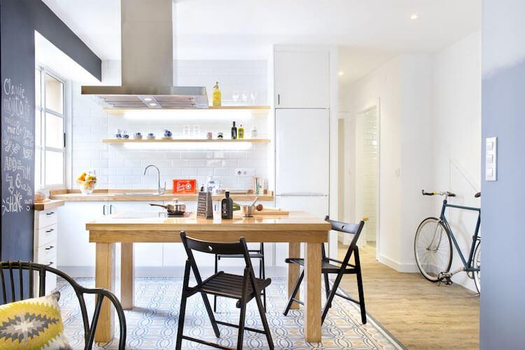 Como decorar una vivienda para alquilarla más rápido. Cocina casa alquiler