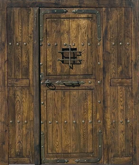 La casa deshabitada agosto 2012 - Fotos de puertas rusticas de madera ...
