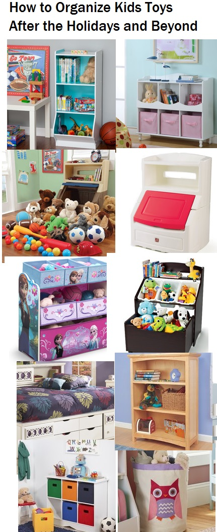 How to Organize Toys for girls and boys playrooms
