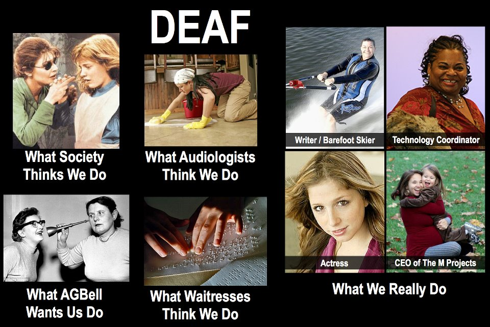 photos of Deaf people ...
