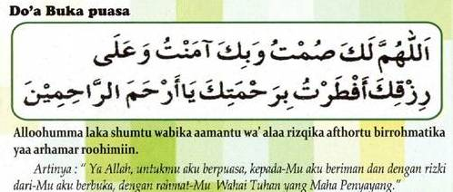 Selamat Menjalankan Ibadah Puasa Niat Puasa Ramadhan Dan Doa Berbuka Puasa