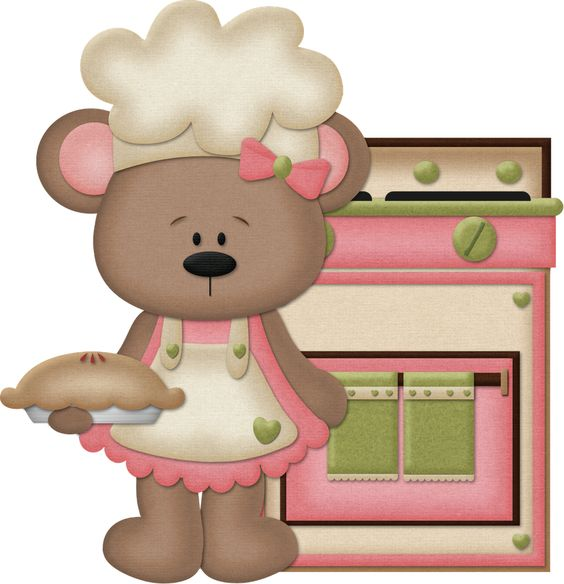 Bear Girls Cooking Clip Art Oh My Fiesta For Ladies