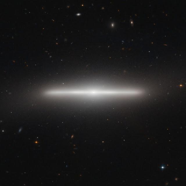 Lenticular Galaxy NGC 4452