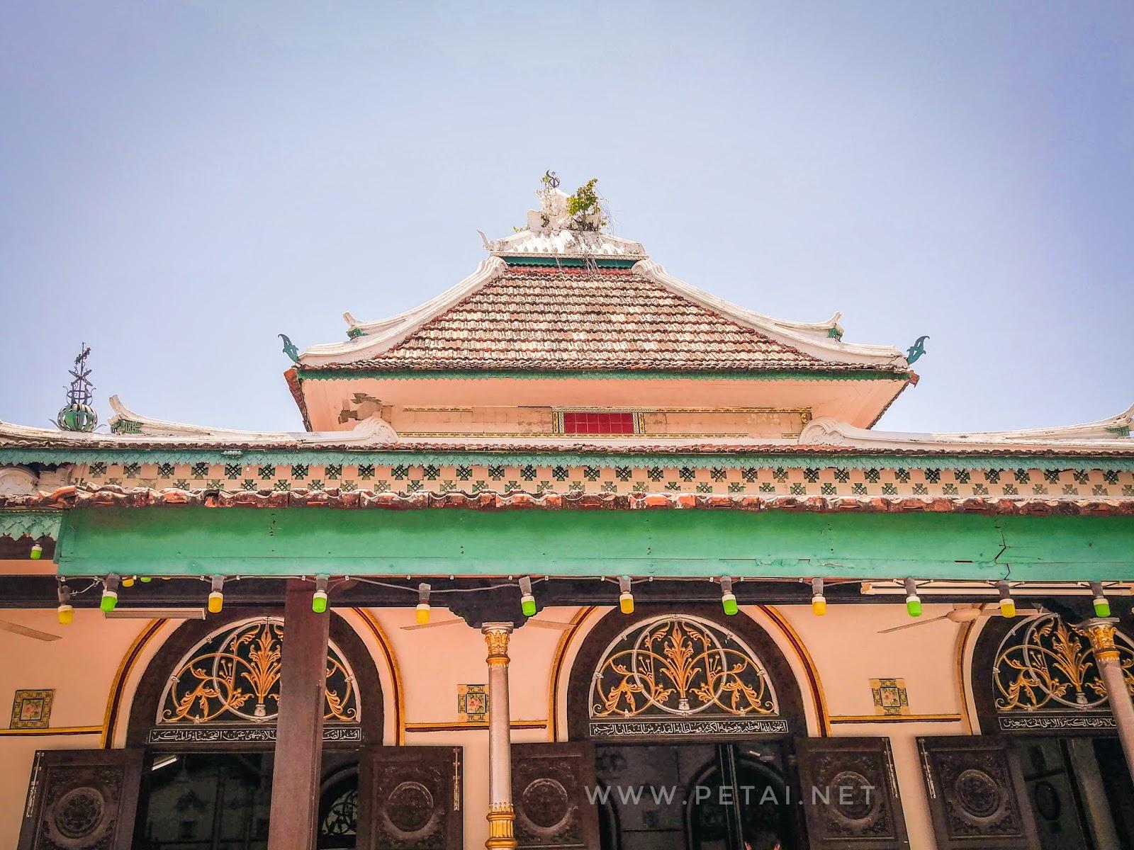 Masjid Tengkera, Melaka - bumbung
