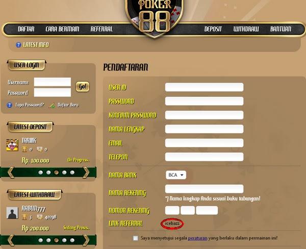 Kocisbrow Situs Judi Poker Uang Sungguhan Daftar Poker88 Daftar Nagapoker