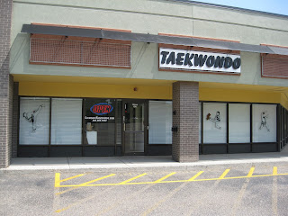 The front of the Lakewood Colorado Taekwondo Institute martial arts school