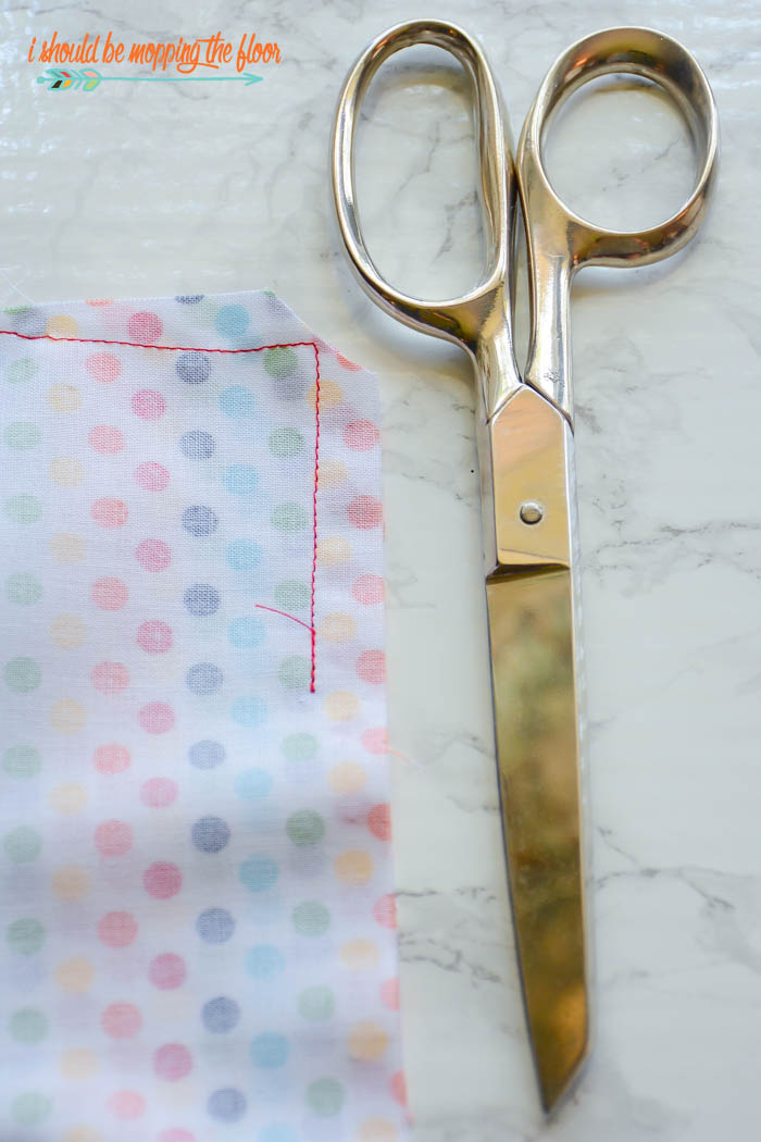 Clipping Corners When Sewing