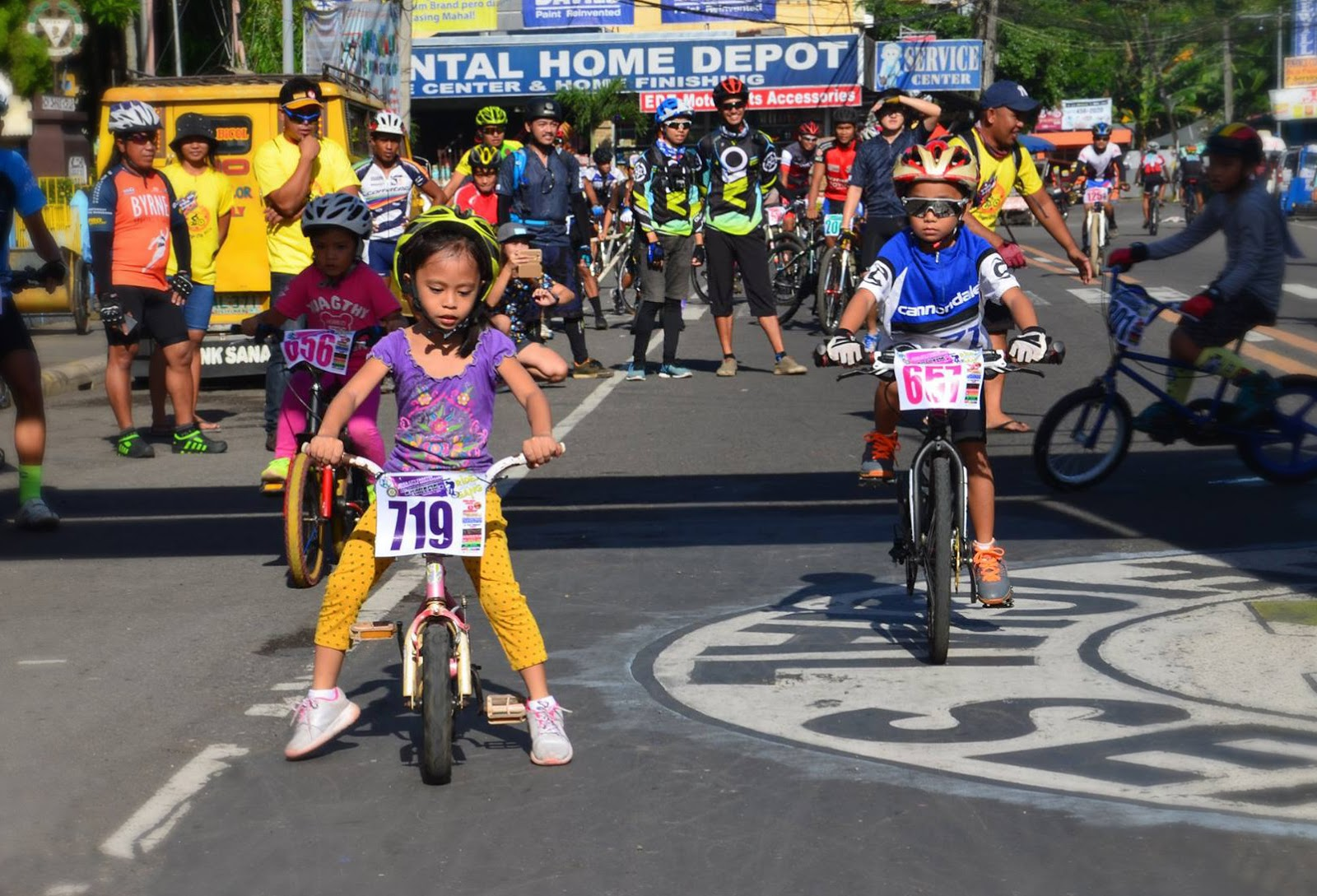 The activity is part of iriga city   th charter foundation anniversary photo via official also kids join opening mt asog extreme mountainbike race in rh bicolstandard