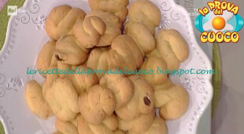 Biscotti di mais ricetta Moroni da Prova del Cuoco