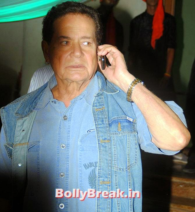 Salim Khan, Indian Tv Serial Mahabharat Heroines and Heroes Pics from Success Party