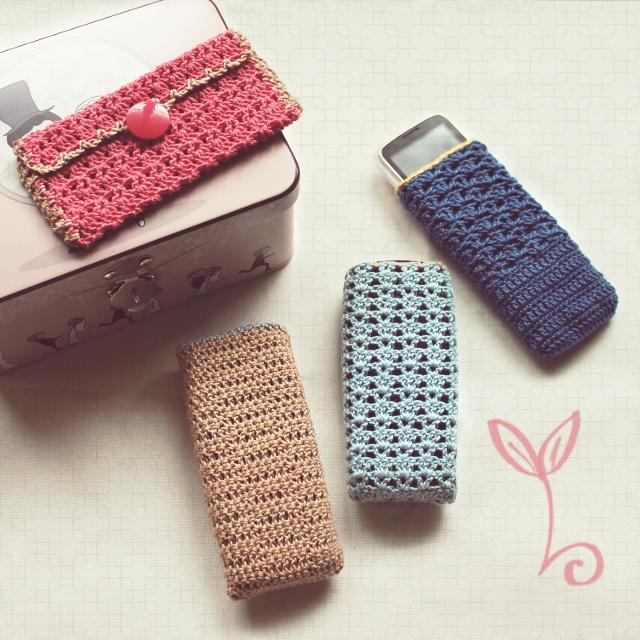 Nephithyrion Crochet Cellphone Case Family