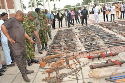 22,430 cultists surrendered 8,572 arms,147 explosives as River State concludes first phase of Amnesty Programme