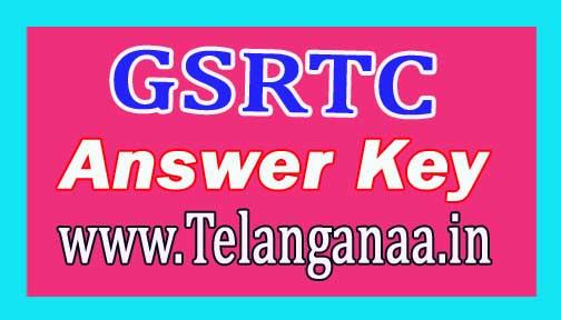 GSRTC Clerk Answer Key 2018 Download