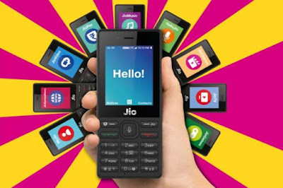 jio phone in 5 varients