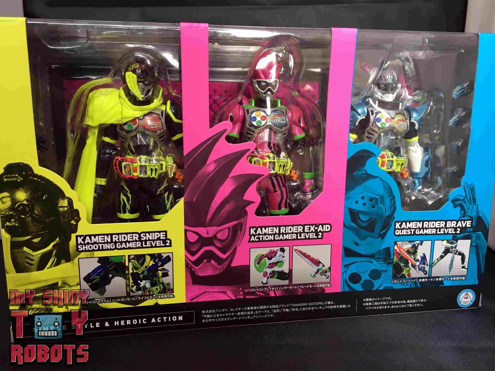 My Shiny Toy Robots: Movie REVIEW: Kamen Rider Ex-Aid
