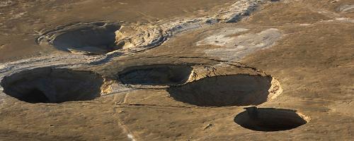 Agujeros del Mar Muerto
