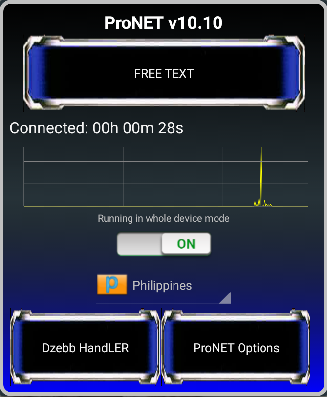 Vpn connected but no network access android