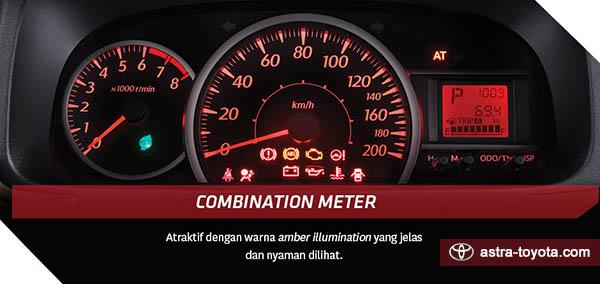 Desain Combination Meter Calya