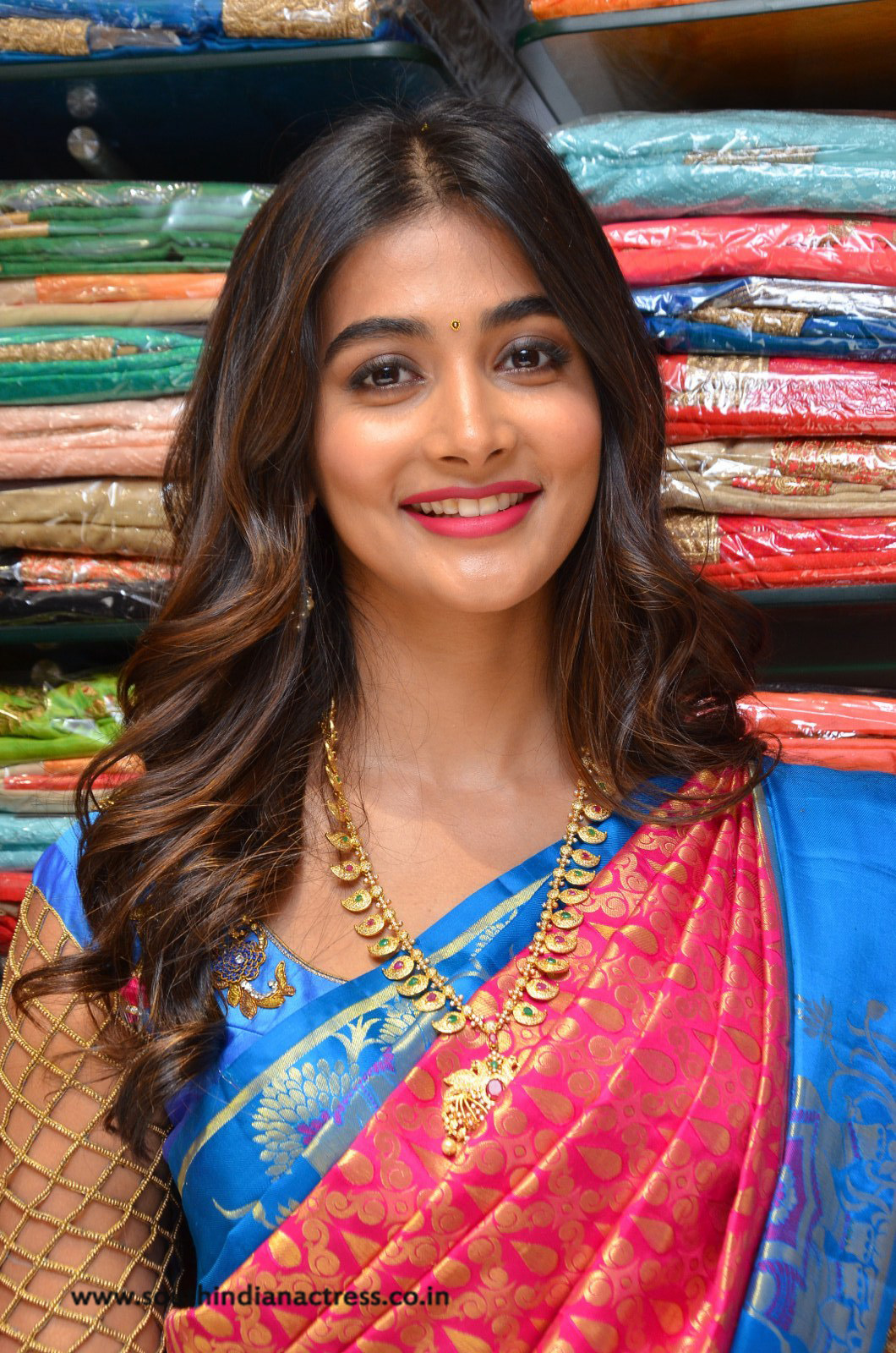 Pooja Hegde Launches Anutex Shopping Mall - South Indian -7830