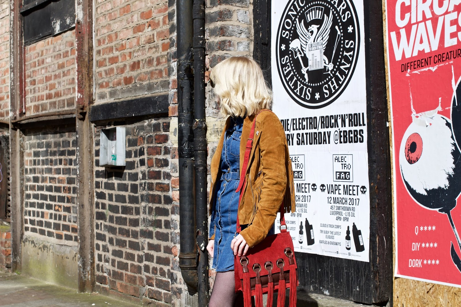 Festival Fashion Sound City OOTD Blush & Noise
