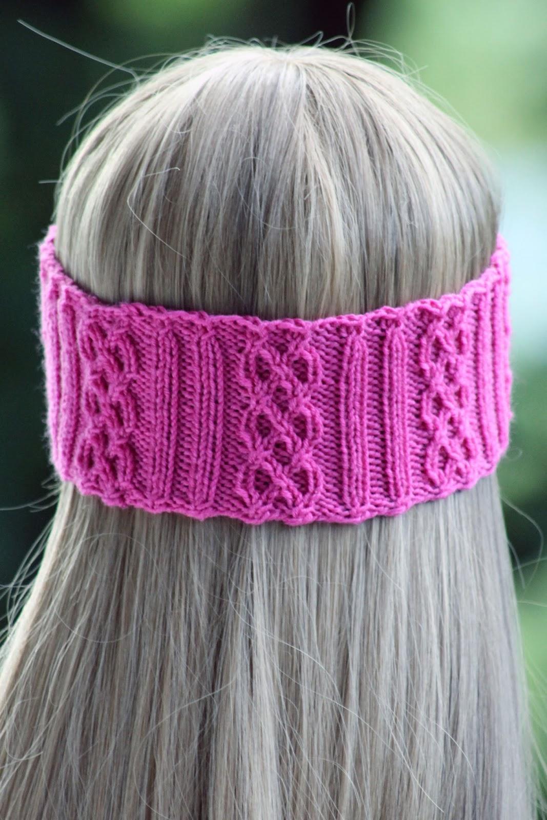 Balls to the Walls Knits: Rib & Braid Headband