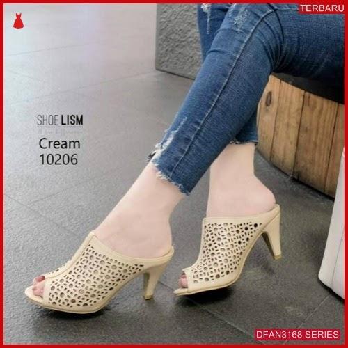 DFAN3168S48 Sepatu Hn 02 High Wanita Hils Laser BMGShop