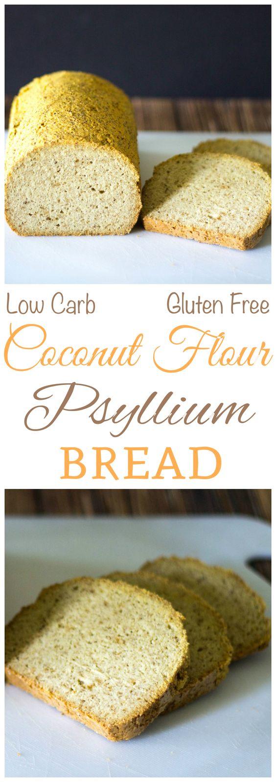 Coconut Flour Psyllium Husk Bread - Top Recipes On The Internet