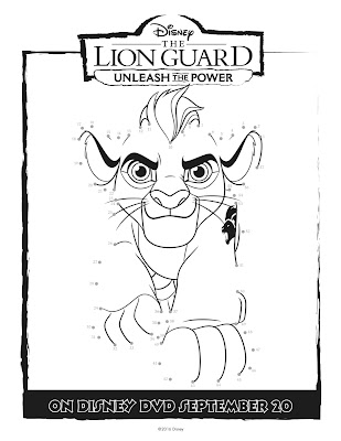 The Lion Guard Connect the dots Kion