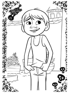 Cositas Entretenidas Y Faciles De Hacer Dibujos De La Pelicula Coco