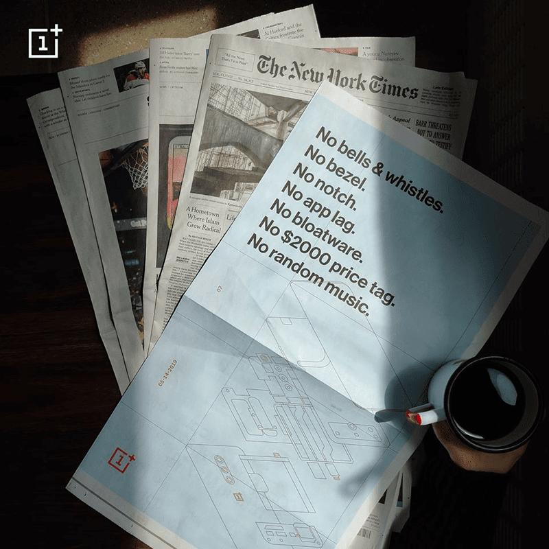 Teaser of OnePlus 7 Pro