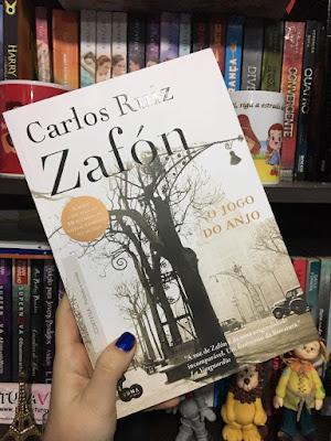[Resenha] - O Jogo do Anjo - Carlos Ruiz Zafón