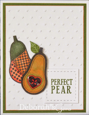 Perfect Pear - photo by Deborah Frings - Deborah's Gems