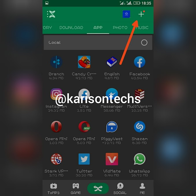 How To Connect Your PC To Your Mobile Phone Using Xender.