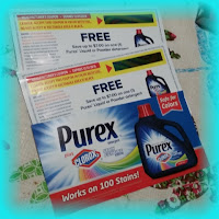 purex with clorox 2 giveaway coupons