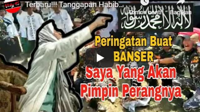 Jika Polisi Abai, Ini Video Habib Bahar Bakal Pimpin Perang Serang Oknum Banser di Garut