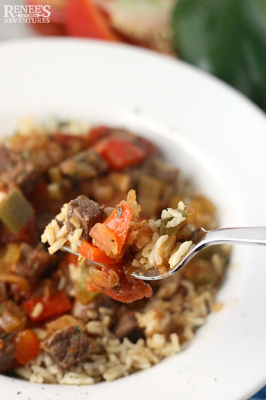 Creole Beef and Rice Bowls #SundaySupper